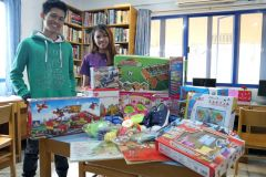 Donation drive from Singapore
