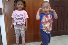 Various photos of children