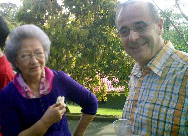 Irene de los Angeles & Dr. Giuseppe Poidimani