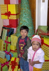 Pag-asa Children during Christmas