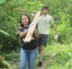 Pag-asa Staff and volunteer at work