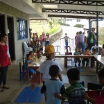 "Hero Angeles' ""From the Bottom of my HeART"" feeding program with Pagasa Daycare students"