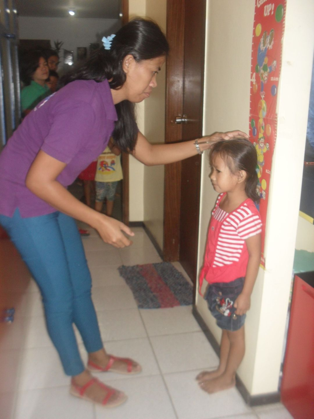 Height and-weight measurement for Feeding Program