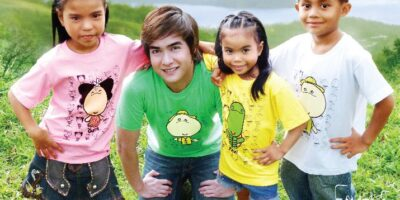 Favola Shirts with Hero Angeles and Pag-asa Kids